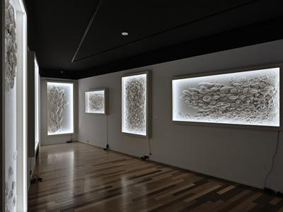 永田哲也個展 ー燦々ー Artglorieux Gallery(2019)