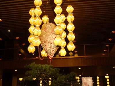 お正月インスタレーション ホテルオークラ東京(2007)